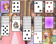 Sofia the first solitaire paszi�nsz j�t�kok